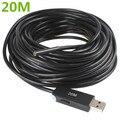 20 M USB Waterproof tubo endoscópio endoscópio inspeção Snake vídeo Mini câmera