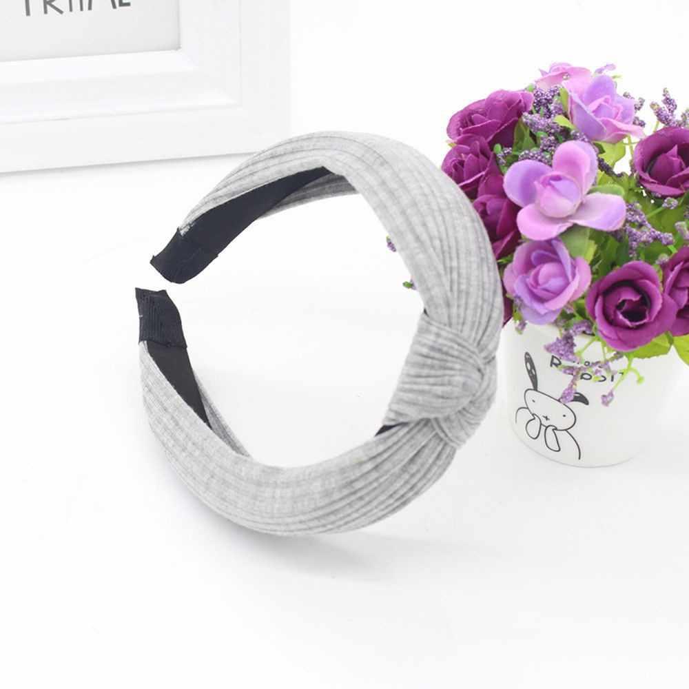 Acessórios Para o cabelo do vintage headband Mulheres scrunchie Moda Headband Hairband Bow Knot Torção Empate Cruz Headwrap Faixa de Cabelo * 0.25/ 1.6