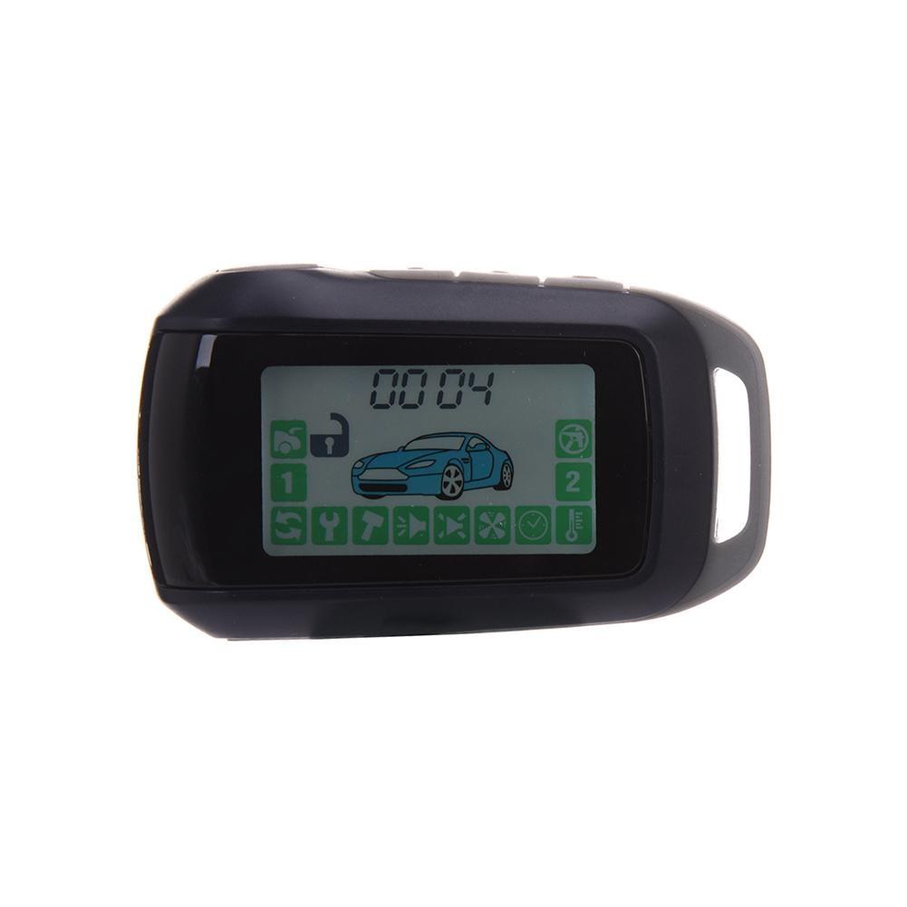 Car Alarm System 2 Way Car Security System LCD Remote Control Tamarack For Starline A92 Key Fob Chain Keychain high quality 433mhz keychain remote control key fob for g90e g90b security wireless alarm system