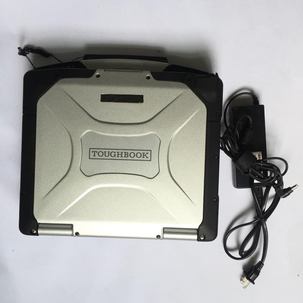 P-anasonic ordinateur portable CF-30 CF30 cf 30 TOUGHBOOK prêt à utiliser 13 pouces 4 gb windows7 240 gb SSD pc ordinateur pour alldata mb star c3 c4 c5