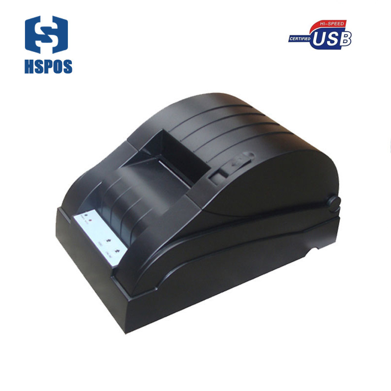 factory pos58 serial port ethernet bill thermal receipt till printer pos 5870 with win10 and LINUX driver 5890 serial port best price 80mm desktop direct thermal printer for bill ticket receipt ocpp 802