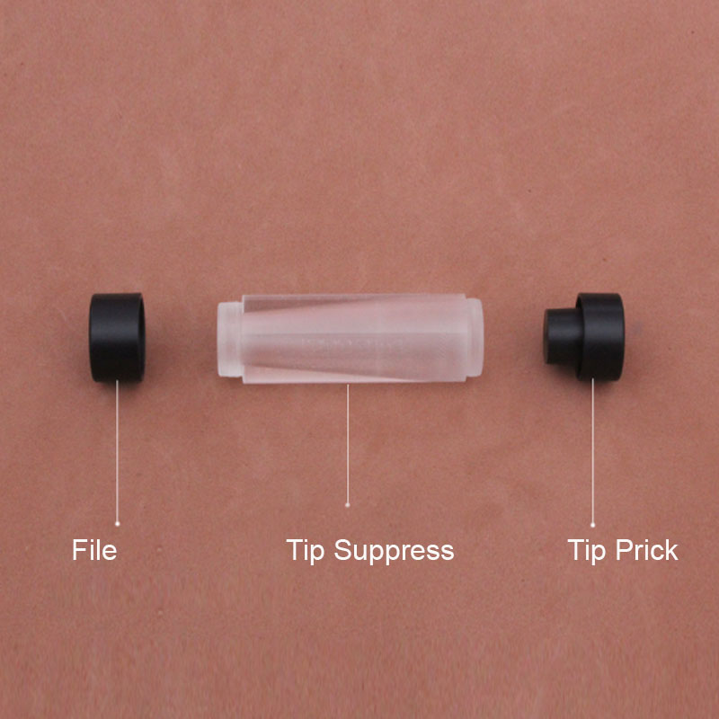 Cuppa 3 in 1 Billiards Pool Cue Tip Repair Tool Accessories File Radian Shape...