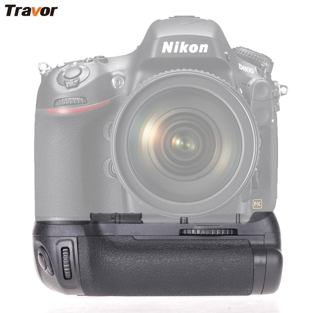 Prix pour Professionnel Battery Grip pour NIKON D800/D800E/D810 DSLR caméra Remplacer MB-D12
