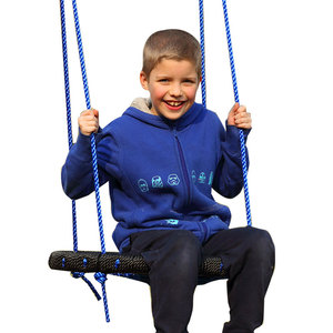 Image 5 - الأطفال عش مستديرة عش سوينغ شماعات داخلي وخارجي الأطفال صافي حبل شجاع سوينغ ألعاب الأطفال تحمل 200 كجم قطرها 60 سنتيمتر TB