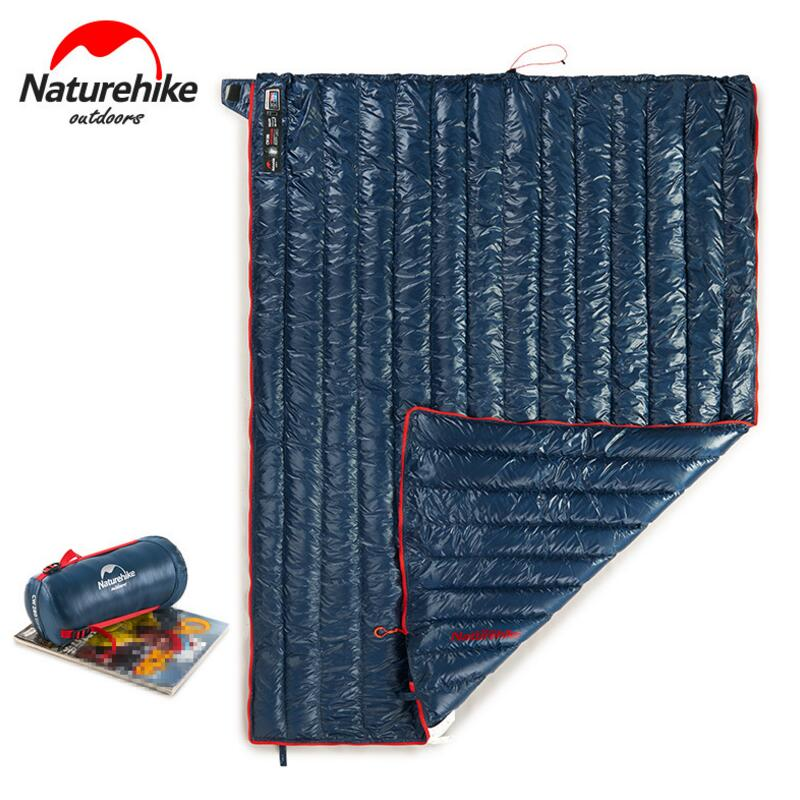 Naturehike Envelope Camping Hiking Outdoor Travel Sleeping Bag Adult Winter Waterproof Ultralight Goose Down Sleeping Bags aegismax outdoor hiking camping sleeping bag adult ultralight naturehike goose down winter cold weather mummy sleeping bags