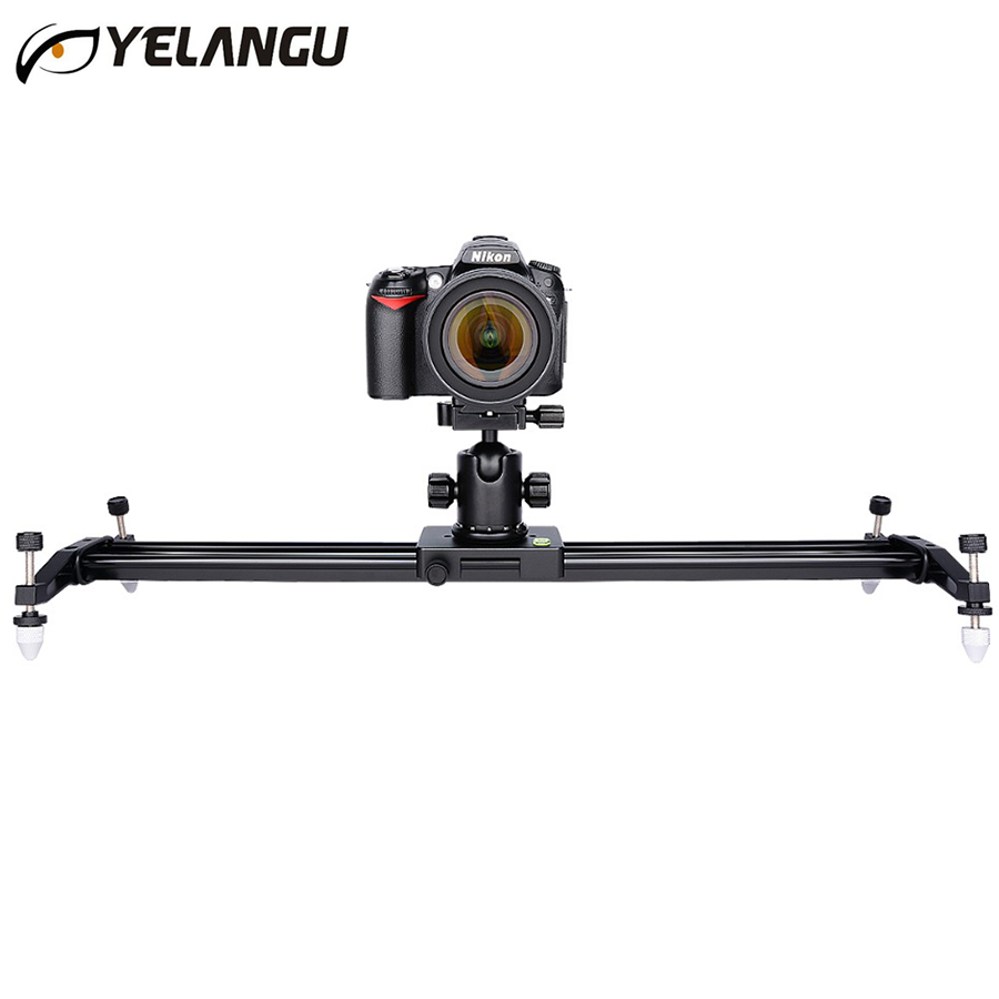 New Pro 60cm/80cm Portable Video Camera Track Slider Dolly Follow Focus load 10kg Rail System for DSLR Canon Nikon Camcorders