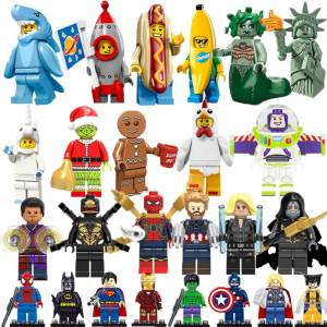 HAPPY MONKEY Legoingly marvel man figures Duplo
