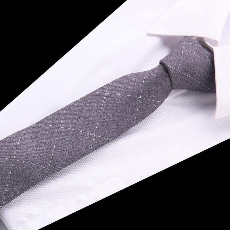 Mens Cotton Slim Tie Flower Skinny Ties Plaid  Narrow Necktie Floral Cavatte Rose Navy Blue Corbatas Hombre 2018 Gravata