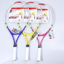 1 шт. 95 квадратных дюймов алюминиевый сплав детская Теннисная ракетка Молодежная фитнес развлекательная специальная теннисная ракетка
