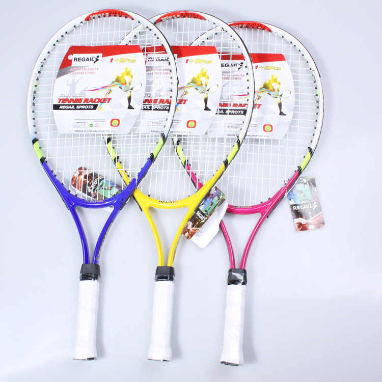 1pcs 95 square inch aluminum alloy children's tennis racket youth fitness entertainment special tennis racket
