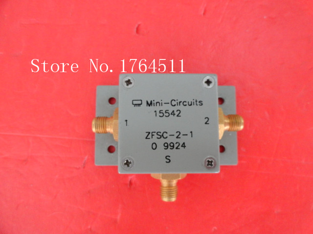 [BELLA] Mini ZFSC-2-1 5-500MHz A Two Supply Power Divider SMA