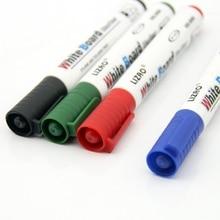 10 шт./партия 4 цвета большой емкости стираемый маркер для белой доски ручка экологически чистый маркер офисные школьные принадлежности