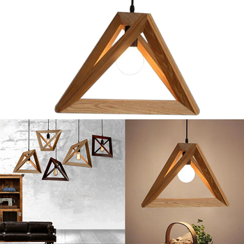 Nordic Pendant Lights Minimalist Art Pendant Lights Hang Triangle Living Room Bedroom Minimalist Restaurant Bar Home Dropship