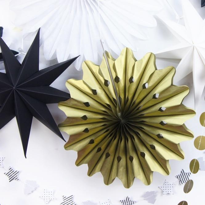 Hängande dekorationer Tinkle Little Star Paper Rosette (Banners, - Semester och fester - Foto 3
