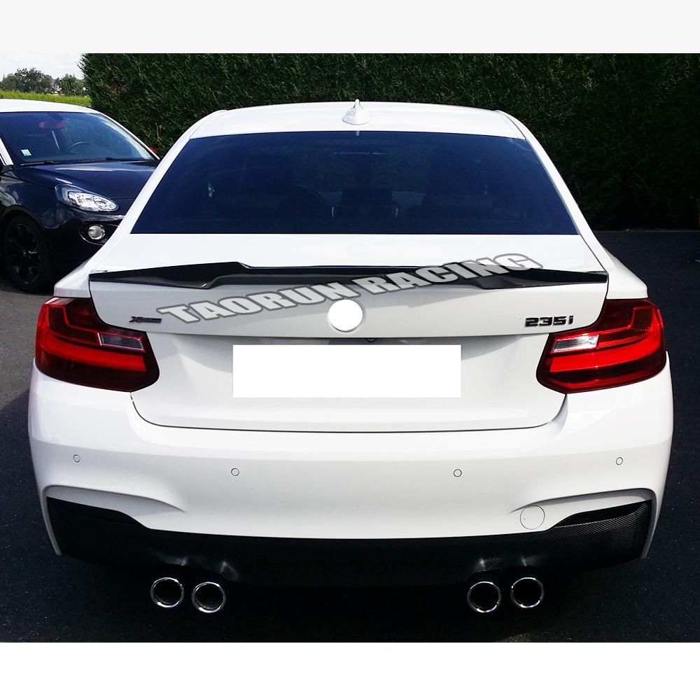 HTB1eVGwafjsK1Rjy1Xaq6zispXaZ - 220i V Style Carbon Fiber Rear Trunk Boot Wing Spoiler for BMW F22 220 228 M235 & F87 M2 2014 - 2018