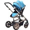 Teknum luz bebê carrinho de criança dobrável dupla two-way explosão Vácuo amortecedores carrinho de bebê choque carrinho de bebê