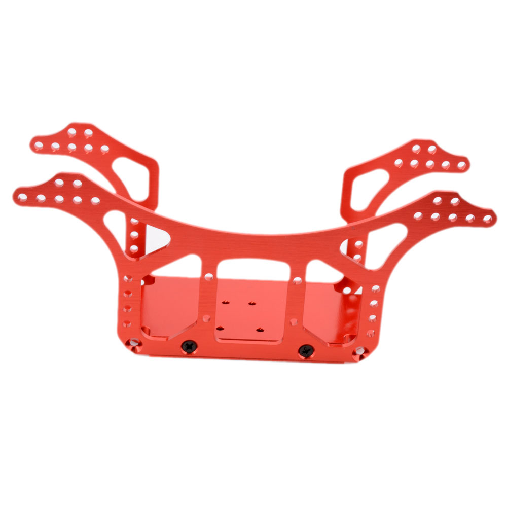 1Set DIY Chassis Frame Alloy Aluminum Axial Ax10 Ax30505/Ax30504 Upgarde For 1/10 Rc Car Scale Rock Crawler N10211 10pcs 30505
