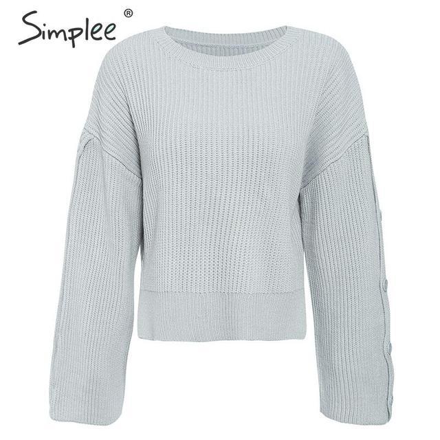 SIMPLEE Moekas pullover
