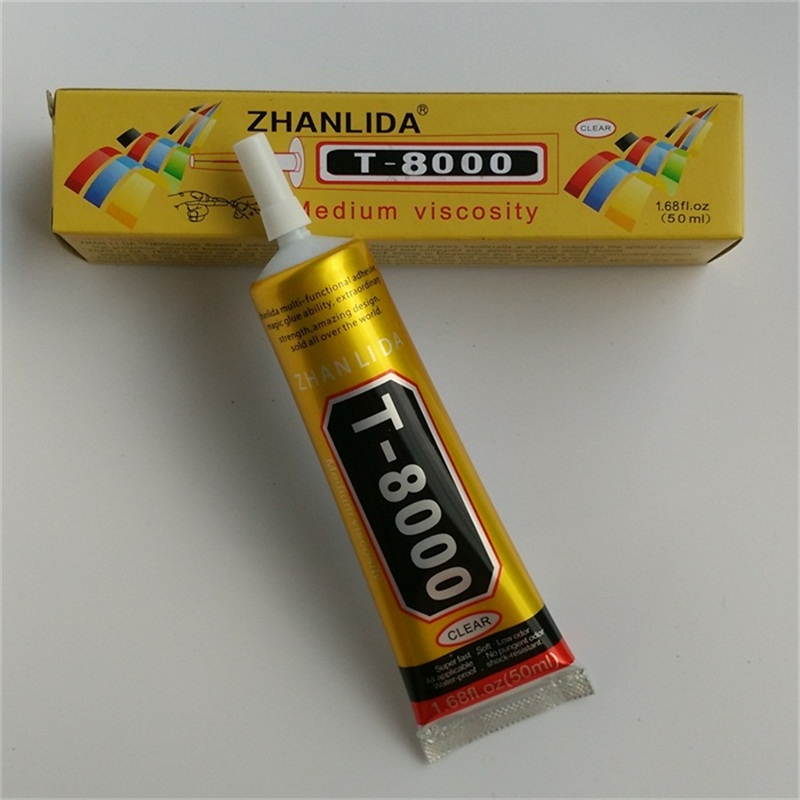 US $13 25  2Pcs 50ML T8000 Glue For Touch Screen Mobile Phone Frame Epoxy  Resin Adhesive Diy Jewelry Art Glass Crystal Jewelry-in Epoxies from Home