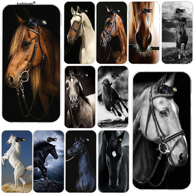 Amazing Horse Animal Soft Phone Cases Tpu Silicon Cover For Samsung