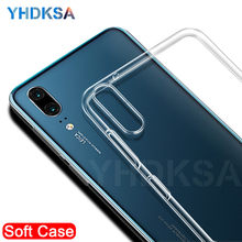 Luxury Soft Transparent Case For Huawei P20 Pro P10 P9 Lite Plus Mate 20 Lite 20X 10 Pro 9 Lite P Smart Ultra Thin Cover Cases(China)