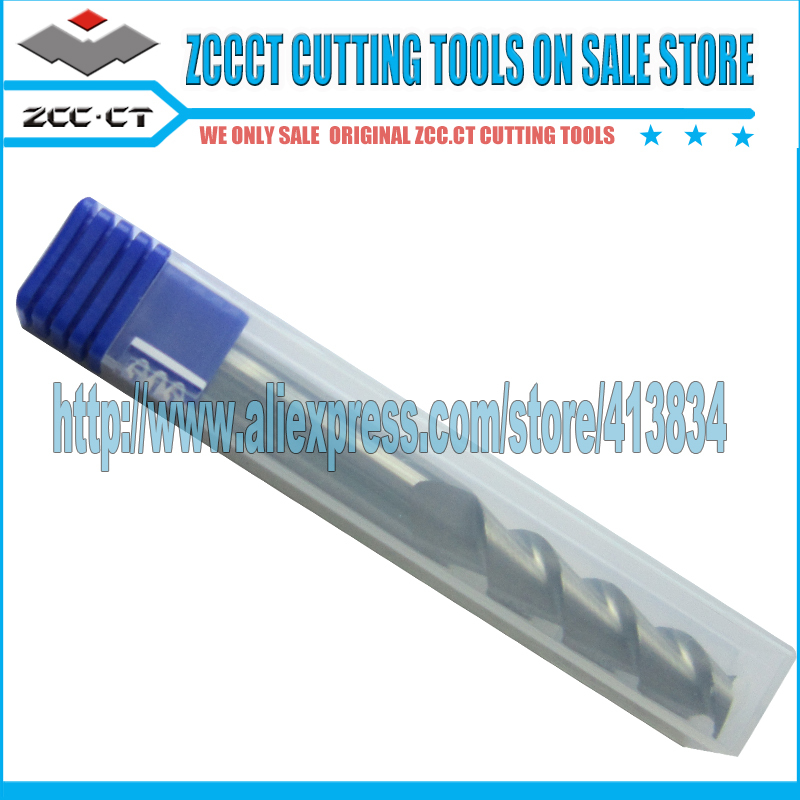 AL-2EL-D6.0 ZCC.CT AL Carbide CNC 2-flute flattened end mills long cutting edge with straight shank zcc ct hm hmx 2efp d12 0 solid carbide 2 flute flattened end mills with long straight shank and short cutting edge