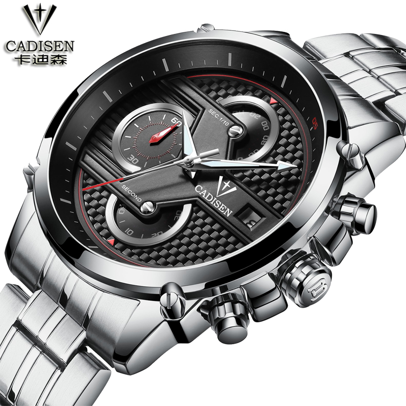 2017 Fashion Luxury Brand Stainless Steel Sports Business Style Analog Quartz Watches Waterproof Wrist Mens Watches Leather new design fashion mens stainless steel band square business quartz analog wrist watches 5v8u 3y3fd