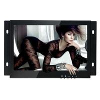 ZGYNK / 7 inch Open Frame Industrial monitor/ metal monitor with VGA /AV/BNC/HDMI monitor