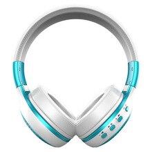 Head-mounted fone de ouvido Bluetooth sem fio fone de ouvido de ALTA FIDELIDADE com FM plug-in esportes B19