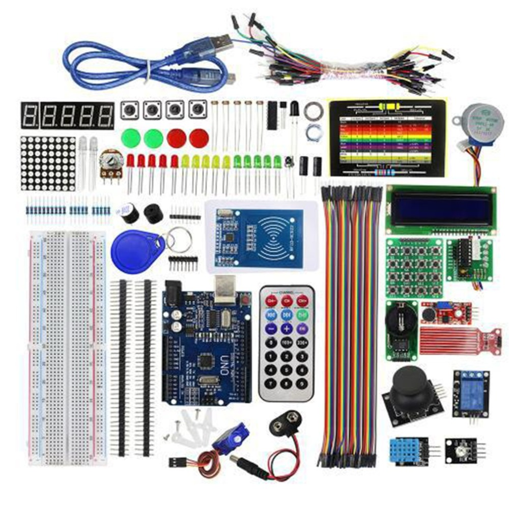 Super Starter Learning Kit (NO UNOR3 Board) For Arduino Programming Education Kit