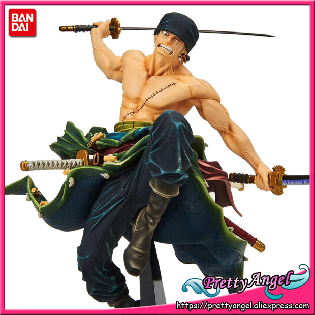 PrettyAngel - Genuine Banpresto WORLD FIGURE COLOSSEUM Zoukeiou vol.1 ONE PIECE Zoro Collection Figure japan anime one piece original banpresto world figure colosseum bwfc zoukeiou vol 1 collection figure zoro