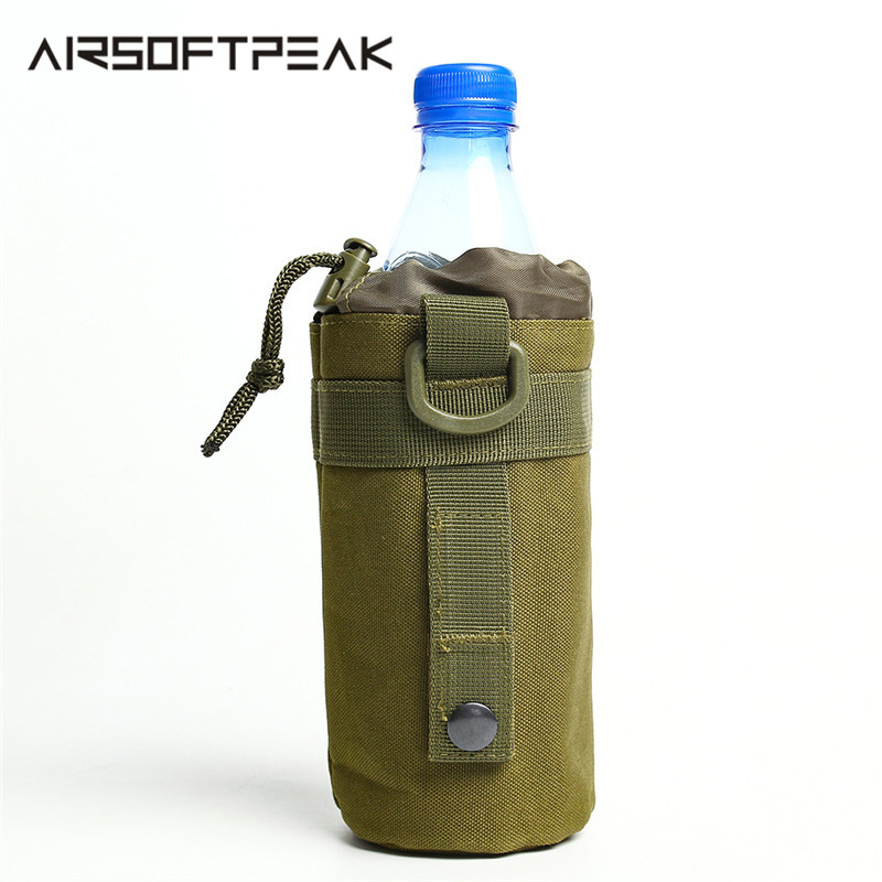 Backpack-Accessories Hydration-Pouch Hunting-Water-Bag Airsoft MOLLE Hiking 600D Tactical