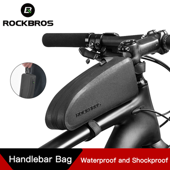 ccb21ce637c ROCKBROS bicicleta Panniers marco tubo frontal impermeable bolsa de  Ciclismo MTB Almacenamiento de carretera a prueba de golpes accesorios de  bicicleta ...