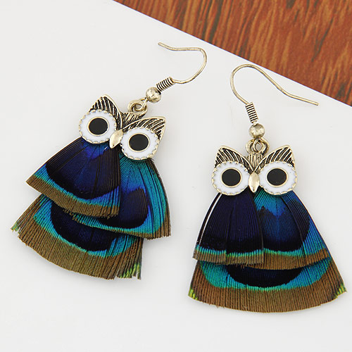 Animal jewel bohemian earring wholesale antique antique for Vintage costume jewelry websites