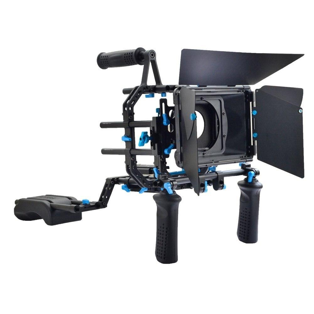 FOTGA DP3000 DSLR Rig Set Film Kit Épaule Mont Rig pour DSLR Caméras et Vidéo Caméscopes