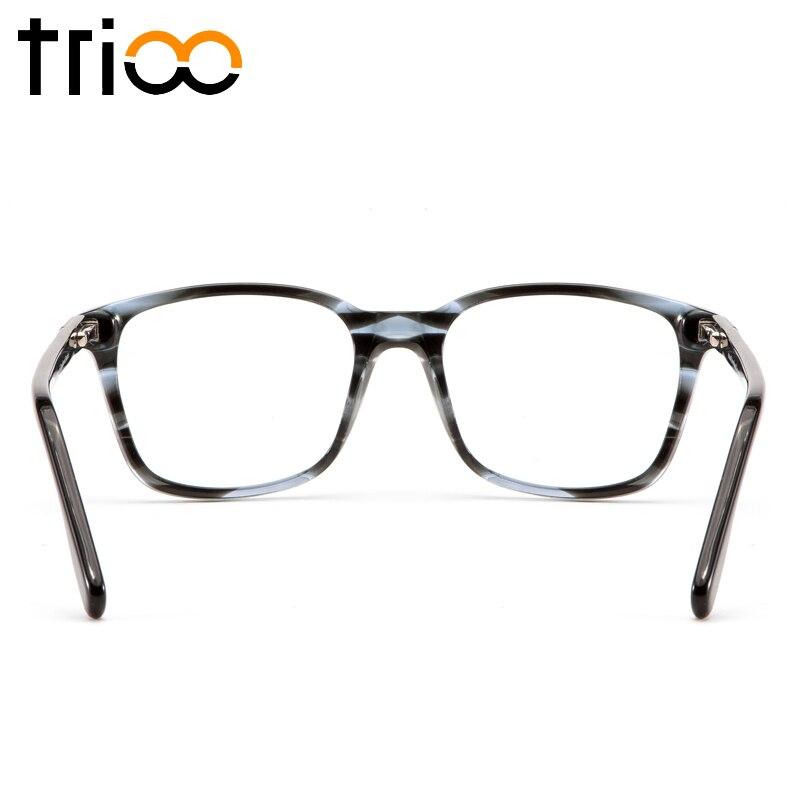 Platz Lesung Gläser C2 Brillen Mode c3 Einzigartige Rezept c4 Myopie Bernstein Transparent Trioo Brille Muster Männer CvHqTTx
