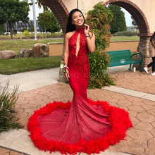 d1bfc074ae361 Buy red feather prom dress and get free shipping on AliExpress.com