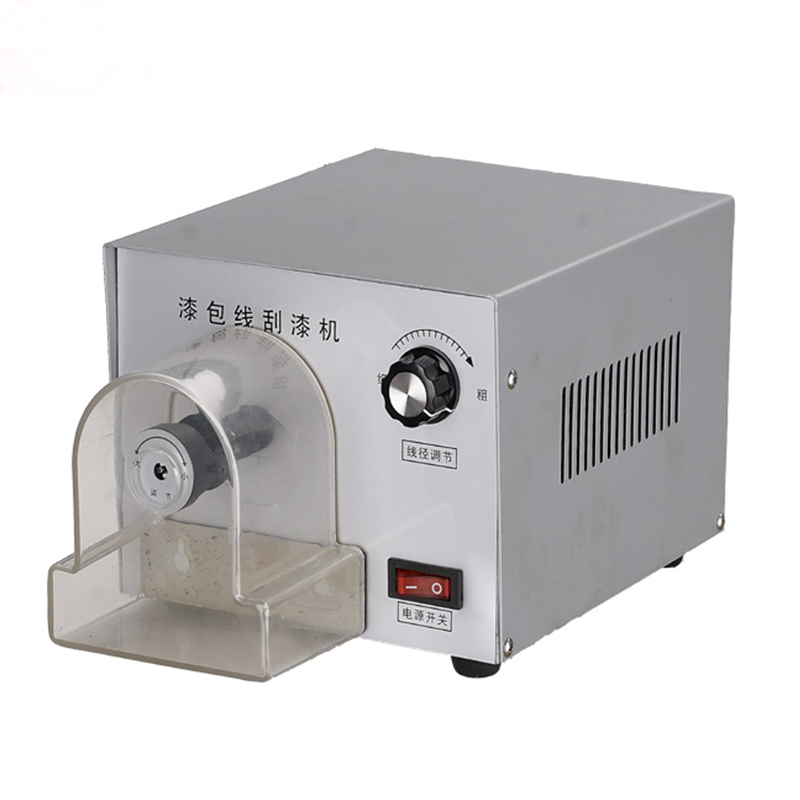 Free ship 1pc XC-550 Enameled Wire Stripping Machine, Varnished Wire Stripper, Enameled Copper Wire Stripper professional welding wire feeder 24v wire feed assembly 0 8 1 0mm 03 04 detault wire feeder mig mag welding machine ssj 18