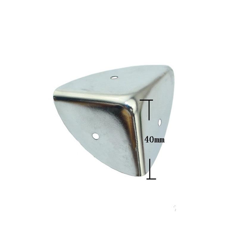 Wholesale 40mm Aluminum Box Cosmetics Cases Suitcase Angle