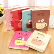 Journal Diary Notepad Exercise-Book Korean Stationery Kids Retro Kawaii Cup for Rabbit