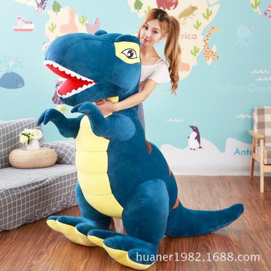 160 см большая тираннозавр кукла динозавр плюшевая игрушка кукла с подушкой для сна детский подарок большой размер - 2