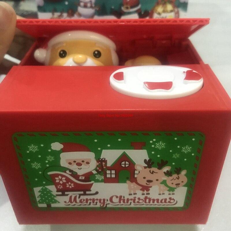 Santa Dieb Geld boxen spielzeug Weihnachten banken geschenk kinder ...