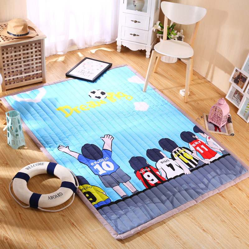 Infant Shining Baby Play Mat 3CM Thickness Children Carpet 140*200*3CM for Anti-skid Bedroom 55*77 Inch 3cm huge