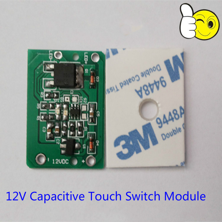 Touchless On Off Capacitive Switch