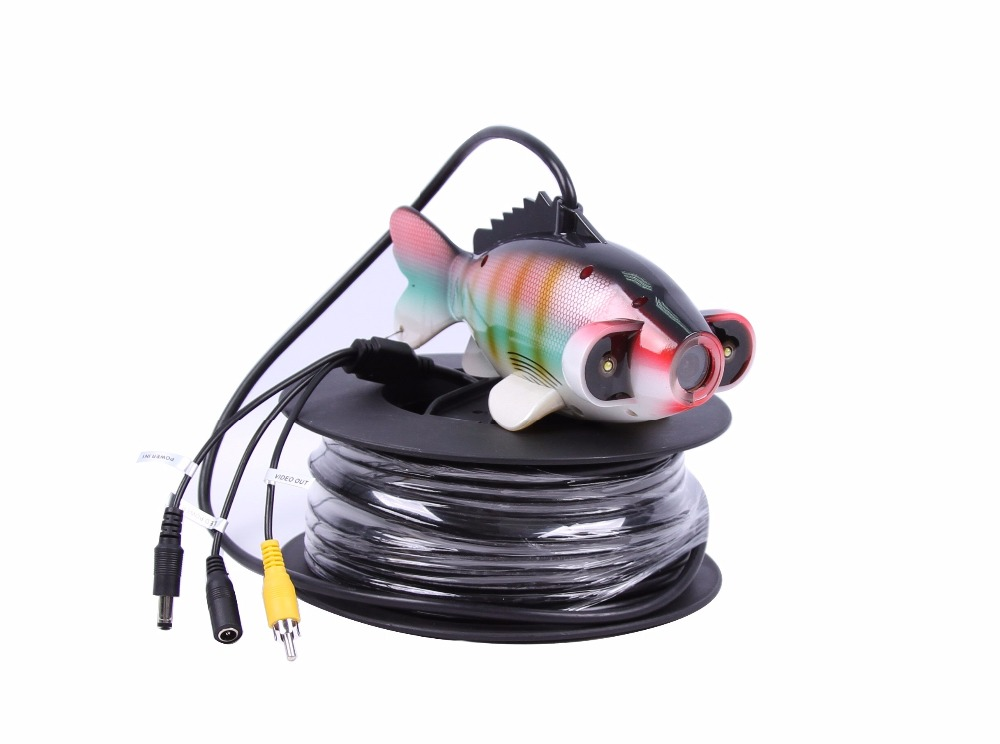 700TVL 7 Inch Screen Under-Water 50M fishing camera AV Handheld Endoscope