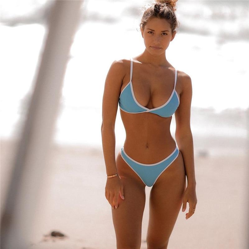 Super Sexy Bikini Set Women Swimwear 2018 Swimsuit Burst -1400