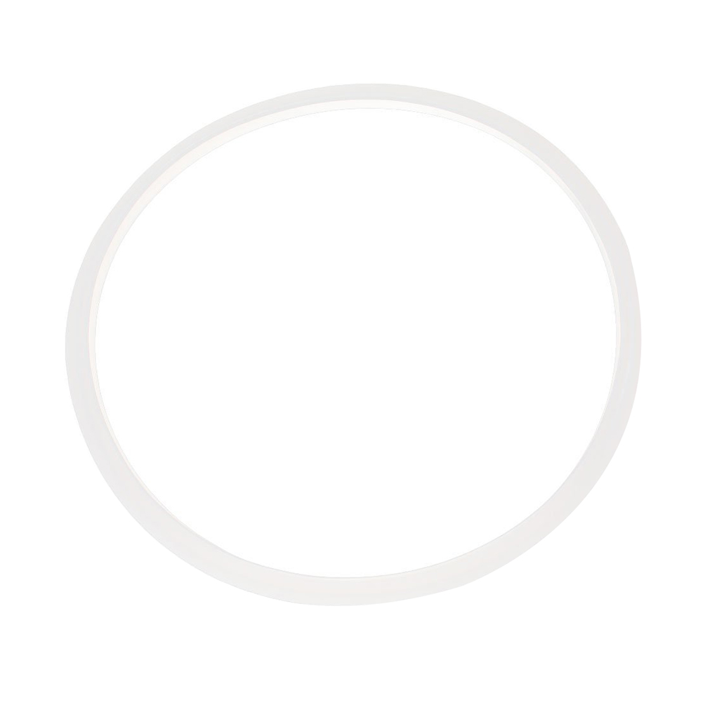22cm Inner Dia Clear Silicone Pressure Cooker Sealing Ring White Electric Pressure Cooker Replacements Parts