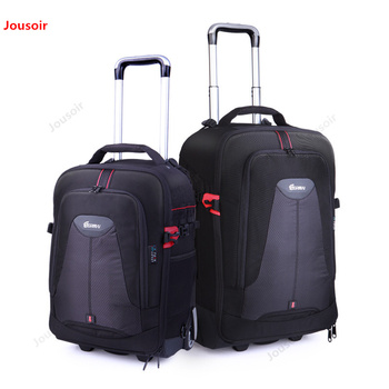 Trolley case Professional SLR Camer bag multi-function photographic package lens packet SLR double shoulder removable CD50 T07 A