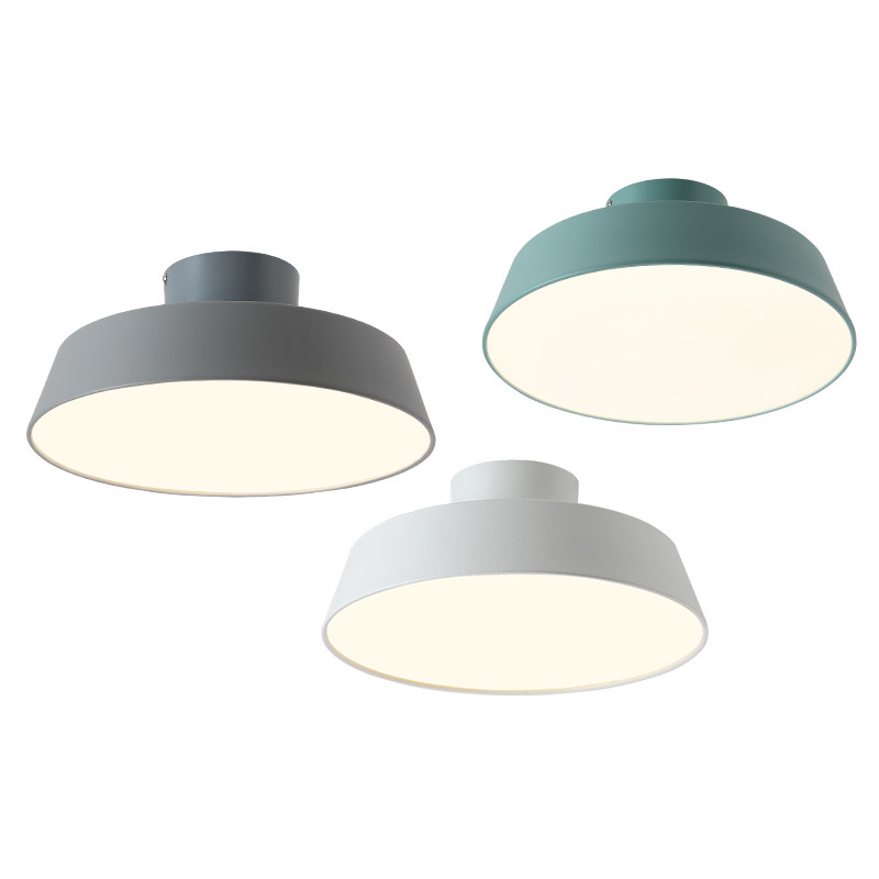 Post modern simple macaron ceiling lights colorful lovely sweet family corridor deco adjustable lampshade surface mounted lamp modern simple ceiling light glass colorful macaron style lovely sweet family deco lighting fixture aluminum surface mounted lamp