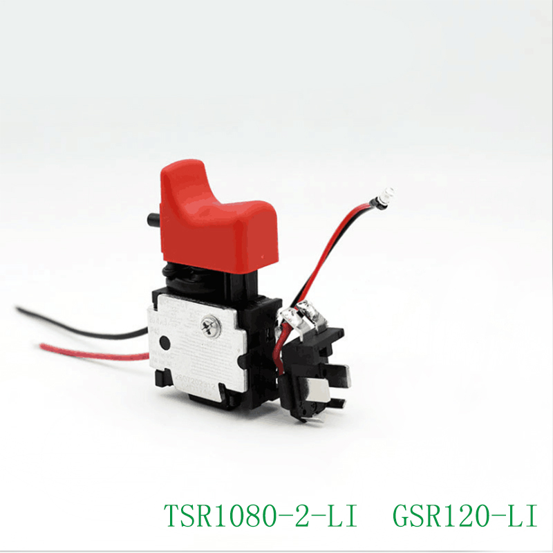 Free shipping! Original accessories  Electric Drill Switch for Bosch 10.8V 12V TSR1080-2-Li  GSR120-LI,High-quality ! free shipping tool holding fixture or sds drill chuck for bosch gbh36vf gbh2 26dfr gbh2 26 gbh4 32dfr gbh3 28 high quality